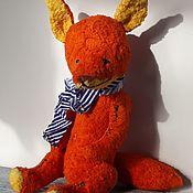 Мягкие игрушки ручной работы. Ярмарка Мастеров - ручная работа Тедди друг Лисонька. Handmade.