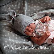 Материалы для творчества handmade. Livemaster - original item MK-description bonnets for newborn Sweet dreams (Sweet dreams). Handmade.