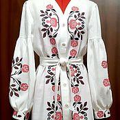 Одежда handmade. Livemaster - original item Women`s embroidered dress