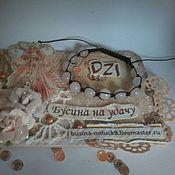 Украшения handmade. Livemaster - original item Bracelet pink quartz, opletenii. Handmade.