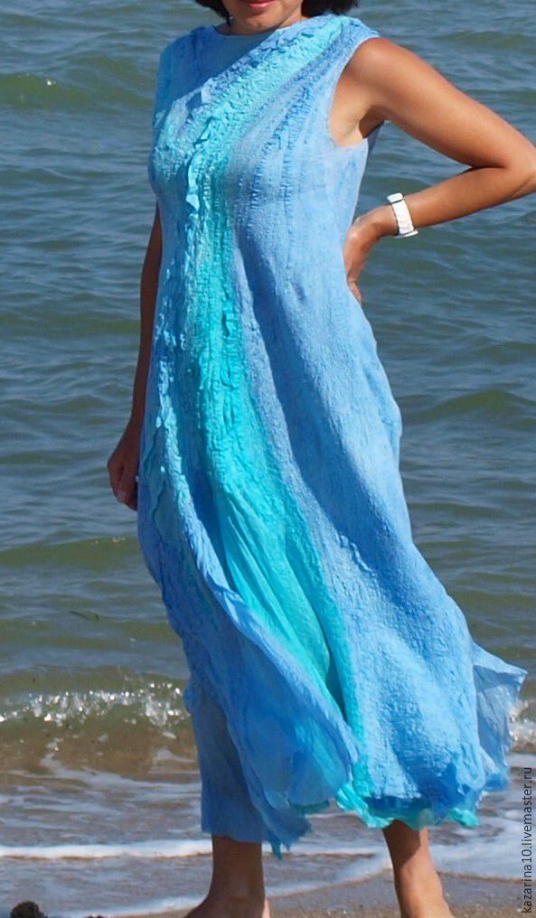 "Dress  "" Land breeze"", Dresses, Moscow,  Фото №1"