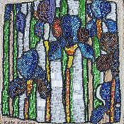 Картины и панно ручной работы. Ярмарка Мастеров - ручная работа Волшебство ирисов. Handmade.
