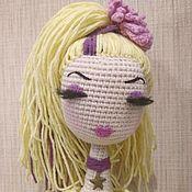 Куклы и игрушки ручной работы. Ярмарка Мастеров - ручная работа Вязаная кукла Илона. Handmade.