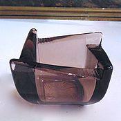 Винтаж handmade. Livemaster - original item VASE VASE vase caviar glass Czechoslovakia. Handmade.