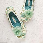 Обувь ручной работы. Ярмарка Мастеров - ручная работа Мятные. Handmade.