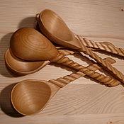 Для дома и интерьера ручной работы. Ярмарка Мастеров - ручная работа Деревянные резные ложки. Handmade.