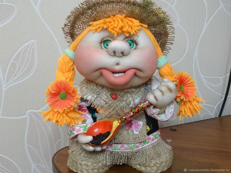 Домовушка Дашенька, Народная кукла, Таганрог,  Фото №1