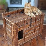 """Для домашних животных, ручной работы. Ярмарка Мастеров - ручная работа Рундук """"Барсик"""". Handmade."""