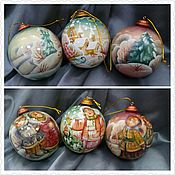 Подарки к праздникам ручной работы. Ярмарка Мастеров - ручная работа Новогодний шар в славянском стиле. Handmade.
