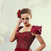 Одежда ручной работы. Ярмарка Мастеров - ручная работа Красное платье.. Handmade.