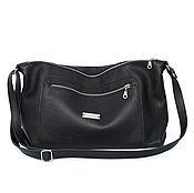Сумки и аксессуары handmade. Livemaster - original item Postman`s Bag Leather Hobo Crossbody Bag with Shoulder Strap. Handmade.