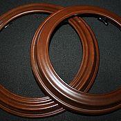 Винтаж handmade. Livemaster - original item Round, wooden plate frames. (photos, pictures), USA. Handmade.