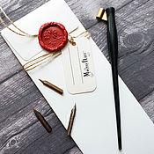 Материалы для творчества handmade. Livemaster - original item Calligraphy set No. №2. Handmade.