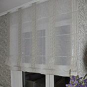 Для дома и интерьера ручной работы. Ярмарка Мастеров - ручная работа Римские шторы- стильное и лаконичное оформление окна. Handmade.