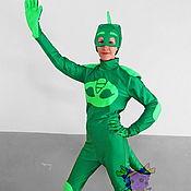 "Одежда handmade. Livemaster - original item Gekko ""PJ Masks"". Animator-actor suit. Handmade."