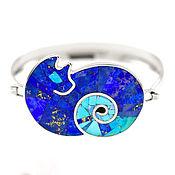 Украшения handmade. Livemaster - original item THE Cat BRACELET. Bracelet with turquoise and lapis lazuli. Handmade.. Handmade.