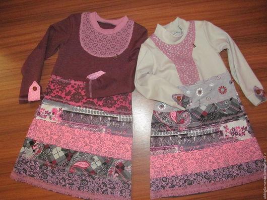 Одежда для девочек, ручной работы. Ярмарка Мастеров - ручная работа. Купить платье. Handmade. Комбинированный, гипюр, ручная работа handmade