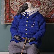 Куклы и игрушки handmade. Livemaster - original item interior doll: Old. Handmade.