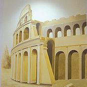 """Дизайн и реклама ручной работы. Ярмарка Мастеров - ручная работа """"Колизей"""". Handmade."""