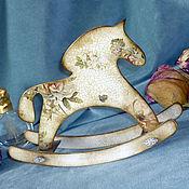 Для дома и интерьера ручной работы. Ярмарка Мастеров - ручная работа Лошадка-качалка. Handmade.
