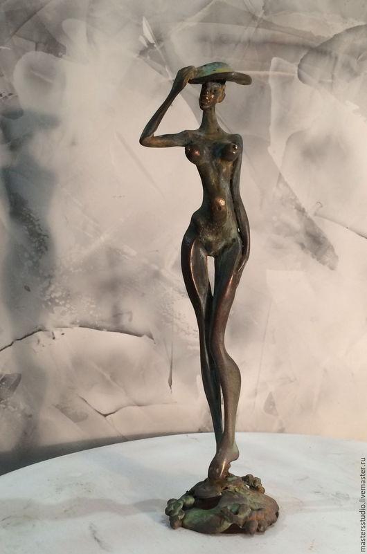 Статуэтки ручной работы. Ярмарка Мастеров - ручная работа. Купить Африка. Handmade. Коричневый, ню, скульптура, девушка, африка, эротика