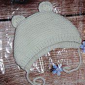 Работы для детей, handmade. Livemaster - original item Knitted hats for newborns. Handmade.