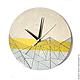 Часы для дома ручной работы. Заказать Часы из дерева Лайта. Часы ручной работы.. Ansem-store. Ярмарка Мастеров.
