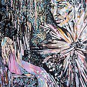 """Картины и панно ручной работы. Ярмарка Мастеров - ручная работа """"Долгожданная встреча"""". Handmade."""