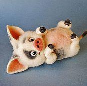 Куклы и игрушки ручной работы. Ярмарка Мастеров - ручная работа Поросенок - друг Моаны. Handmade.