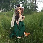 """Куклы и игрушки ручной работы. Ярмарка Мастеров - ручная работа """"На охоте"""". Handmade."""