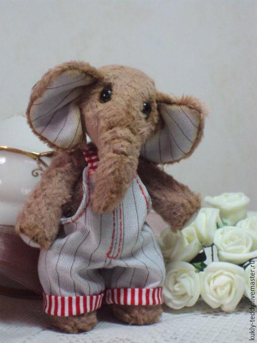 Мишки Тедди ручной работы. Ярмарка Мастеров - ручная работа. Купить слоник тедди Фантик. Handmade. Коричневый, друзья тедди