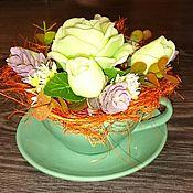 Косметика ручной работы handmade. Livemaster - original item Magic bouquet of handmade soap