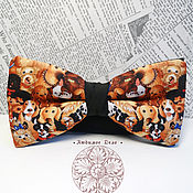 Аксессуары handmade. Livemaster - original item bow tie dog/ butterfly with dogs/pugs/poodle/puppies/ p. Handmade.