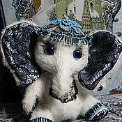 Куклы и игрушки ручной работы. Ярмарка Мастеров - ручная работа слонечка Ночная фиалка. Handmade.