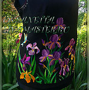Одежда handmade. Livemaster - original item Top with embroidery