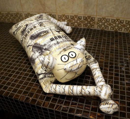 """Автомобильные ручной работы. Ярмарка Мастеров - ручная работа. Купить Игрушка-подушка """"Радужный кот"""" звуки музыки. Handmade. котик"""
