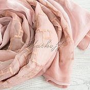 Аксессуары handmade. Livemaster - original item Silk double-sided scarf from Hermes fabric