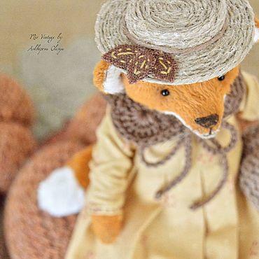 Куклы и игрушки ручной работы. Ярмарка Мастеров - ручная работа Тедди Лисонька. Handmade.