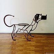"""Банкетки ручной работы. Ярмарка Мастеров - ручная работа Банкетка """"Собачка"""". Handmade."""