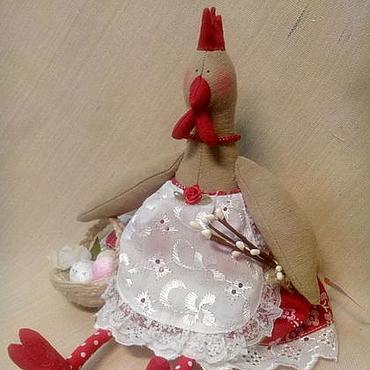 Куклы и игрушки ручной работы. Ярмарка Мастеров - ручная работа Курочки Тильда. Handmade.