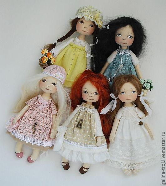 Коллекционные куклы ручной работы. Ярмарка Мастеров - ручная работа. Купить Малышки. Handmade. Подарок девушке, батист 100%