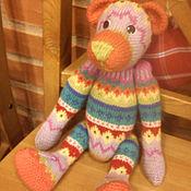 """Куклы и игрушки ручной работы. Ярмарка Мастеров - ручная работа жаккардовый мишка """"Пинки"""". Handmade."""