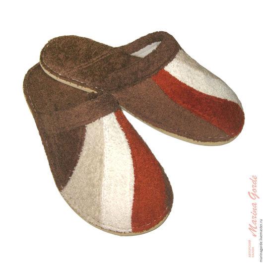 махровые тапочки, купить тапочки, домашняя тапочки, женские тапочки, купить домашние тапочки, войлочные тапочки, домашний обувь, Marina Gorde