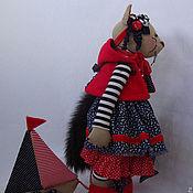 Куклы и игрушки ручной работы. Ярмарка Мастеров - ручная работа Кошечка Морячка. Handmade.