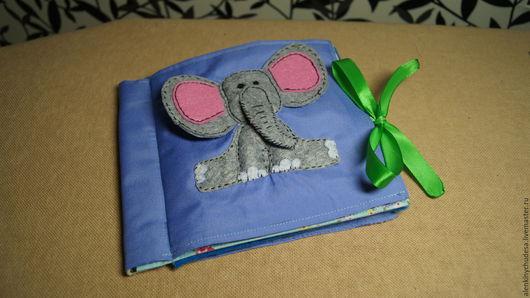 Развивающие игрушки ручной работы. Ярмарка Мастеров - ручная работа. Купить Книжка-малышка. Handmade. Комбинированный, фетр