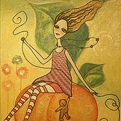 Картины и панно ручной работы. Ярмарка Мастеров - ручная работа Солнечный день. Handmade.