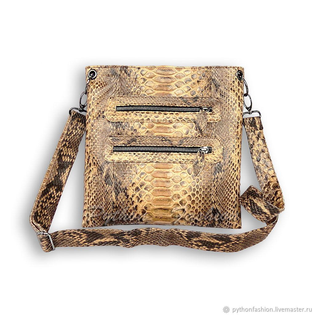 Zala Python leather handbag, Crossbody bag, Kuta,  Фото №1