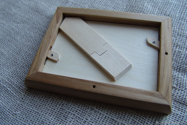 Photo Frame Made Of Karelian Birch 9 X 13 Shop Online On