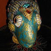 """Для дома и интерьера ручной работы. Ярмарка Мастеров - ручная работа Ваза """"Рыба моя"""".. Handmade."""