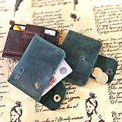 Сумки и аксессуары handmade. Livemaster - original item Cardholder wallet. Handmade.
